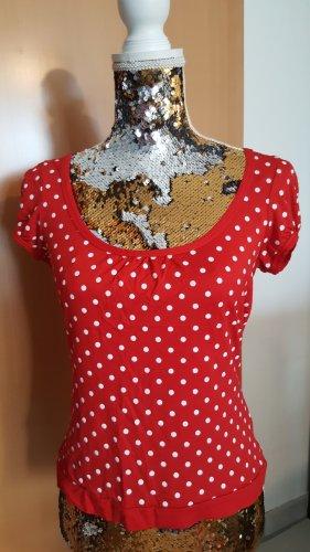 Melrose Shirt Gr. 38 rot Punkte
