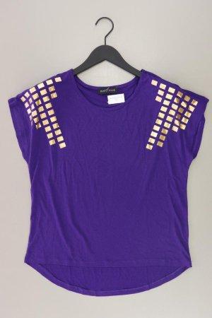 Melrose Shirt Größe 34 lila aus Polyester