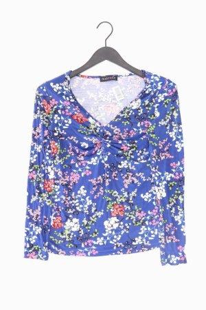 Melrose V-Neck Shirt blue-neon blue-dark blue-azure