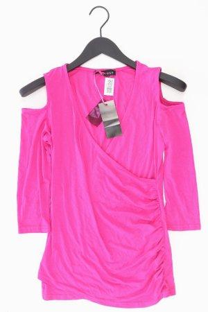 Melrose Maglia con scollo a V rosa chiaro-rosa-rosa-fucsia neon Viscosa