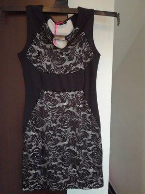 Melrose Spitzen-Kleid, schwarz, elegant, Gr. 38