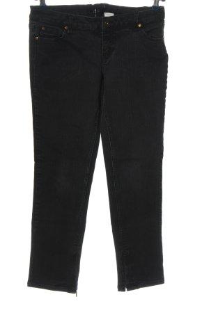 Melrose Straight-Leg Jeans schwarz Casual-Look