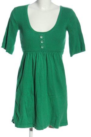 Melrose Strickkleid grün Casual-Look