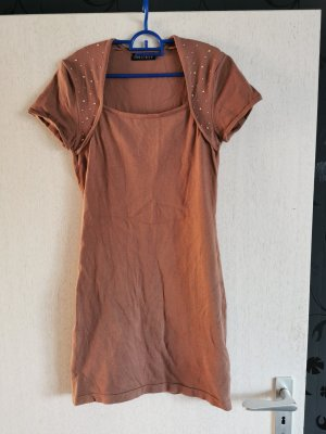 Melrose Knitted Dress brown
