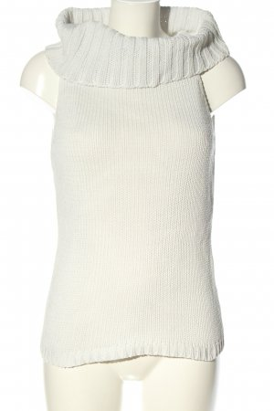 Melrose Gebreide top wit casual uitstraling