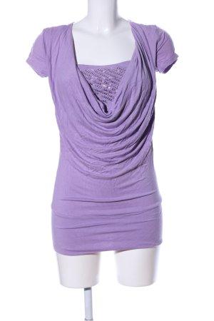 Melrose T-Shirt lila Casual-Look