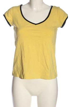 Melrose T-Shirt primrose-black casual look