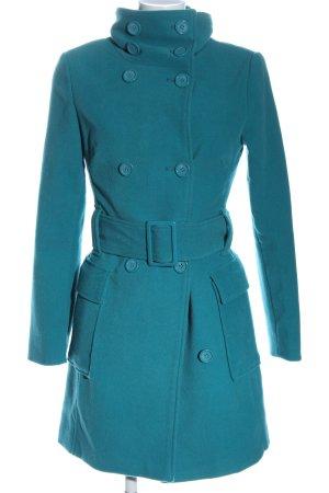 Melrose Cappotto mezza stagione blu stile casual