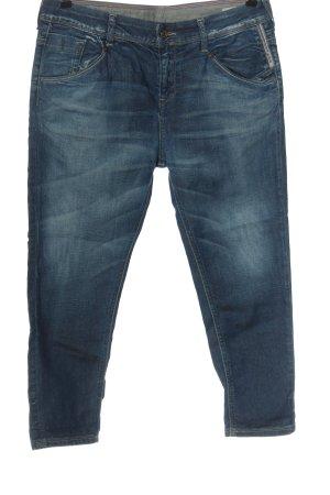 Meltin Pot Jeans a 7/8 blu stile casual