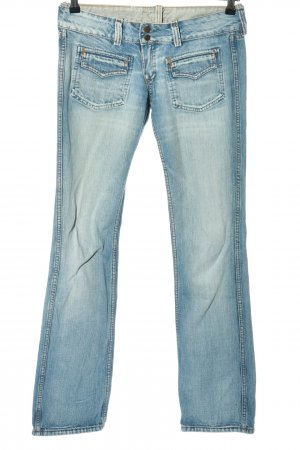 Meltin Pot Boot Cut Jeans blue casual look