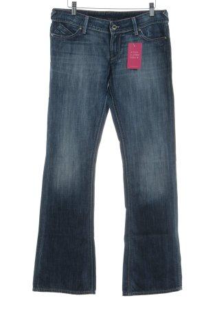Meltin Pot Boot Cut Jeans blau Casual-Look