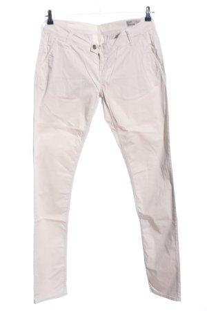 Meltin Pot Spodnie biodrówki jasnoszary W stylu casual