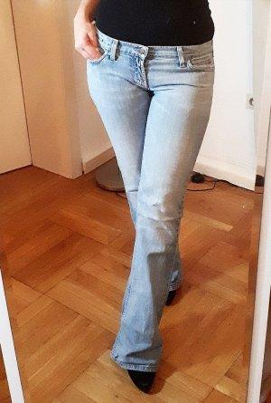 Meltin Pot Low Rise jeans azuur