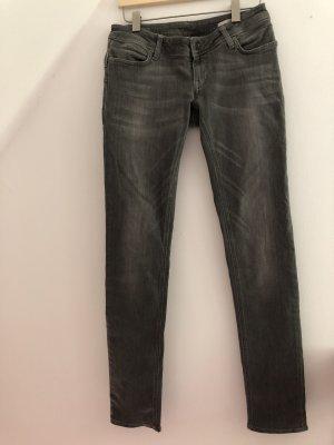 Meltin Pot Jeans a sigaretta grigio-grigio chiaro