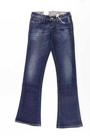 Meltin Pot Jeans a zampa d'elefante blu-blu neon-blu scuro-azzurro Cotone