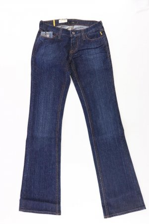Meltin Pot Jeansowe spodnie dzwony Bawełna