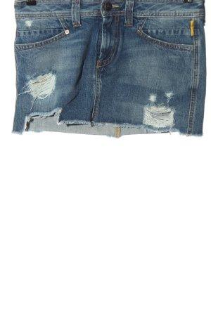 Meltin Pot Gonna di jeans blu stile casual