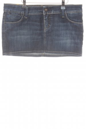 Meltin Pot Jeansrock mehrfarbig Jeans-Optik