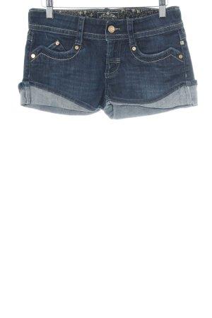 Meltin Pot Pantaloncino di jeans blu scuro stile casual