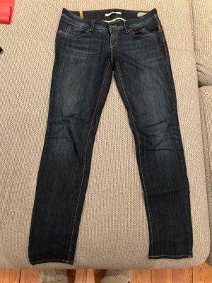 Meltin Pot Jeans coupe-droite bleu foncé