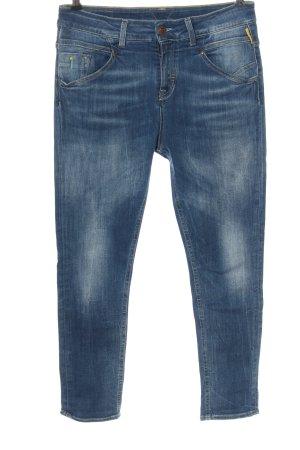 Meltin Pot Jeans a sigaretta blu stile casual