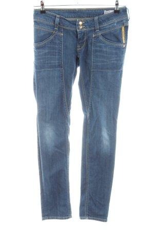 Meltin Pot Jeansy o obcisłym kroju niebieski W stylu casual