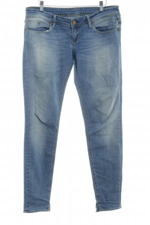 Meltin Pot Jeans skinny bleu azur Aspect de jeans