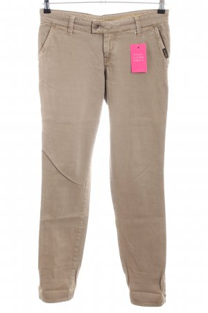 Meltin Pot Slim Jeans creme Casual-Look