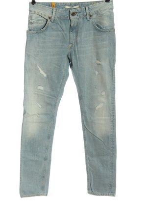 Meltin Pot Jeans slim bleu style décontracté