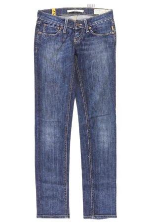 Meltin Pot Jeans a gamba dritta blu-blu neon-blu scuro-azzurro Cotone