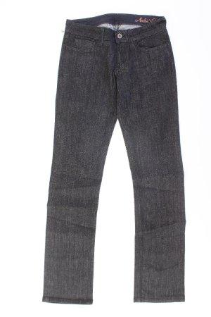 Meltin Pot Jeans a gamba dritta nero Cotone