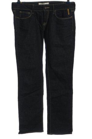Meltin Pot Jeansy z prostymi nogawkami czarny W stylu casual