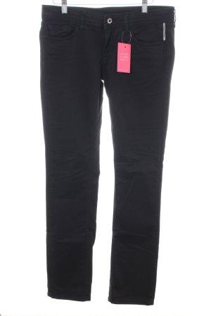 Meltin Pot Straight-Leg Jeans schwarz Casual-Look