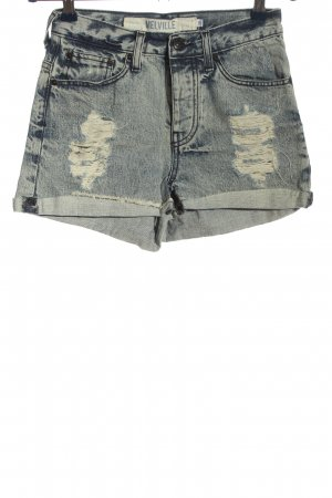 melville Jeansshorts blau Casual-Look