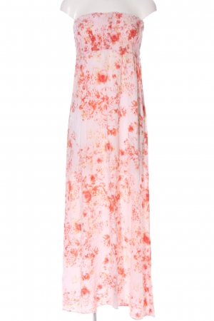 melville Maxirock pink-rot Blumenmuster Casual-Look