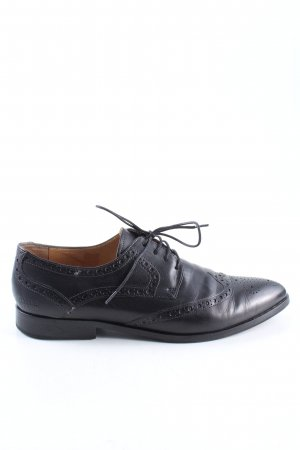 Melvin & hamilton Wingtip Shoes black business style