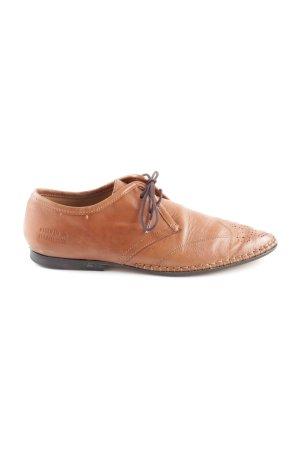 Melvin & hamilton Budapest schoenen licht Oranje casual uitstraling