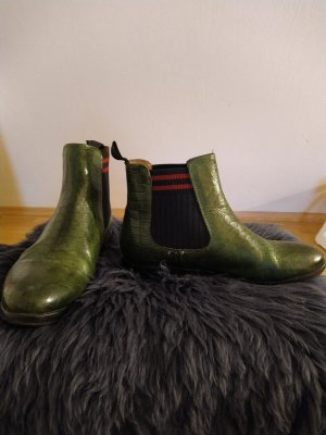 Melvin & hamilton Chelsea Boots green-forest green
