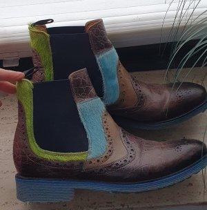 Melvil & Hamilton Chelsea laarzen veelkleurig