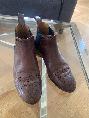 Melvil & Hamilton Chelsea Boots dark brown