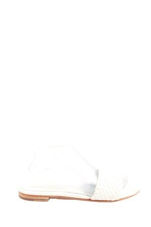 Melvin & hamilton Strandsandalen wit casual uitstraling
