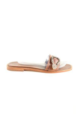 Melvin & hamilton Flip-Flop Sandals brown casual look
