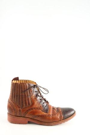Melvin & hamilton Korte laarzen licht Oranje-bruin casual uitstraling