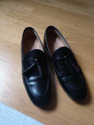 Melvin & hamilton Zapatos formales sin cordones negro-rojo