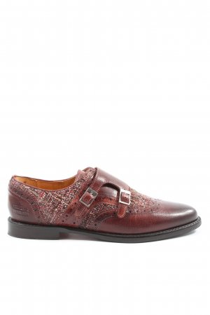 Melvin & hamilton Oxford rot meliert Business-Look