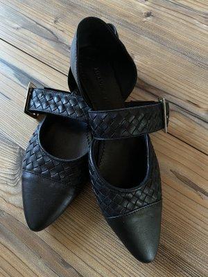 Melvin & hamilton Ballerines à lacets noir