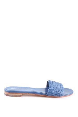Melvin & hamilton Strandsandalen blauw casual uitstraling