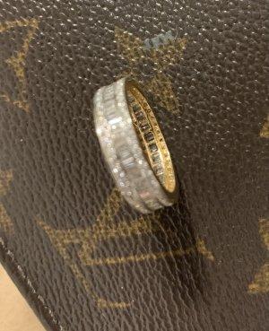 Memoir Ring 18k Gold mit 1 carat  Diamanten