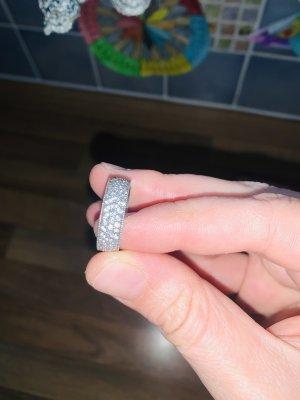 Memorial Ring Silber neuwertig Größe 19,1