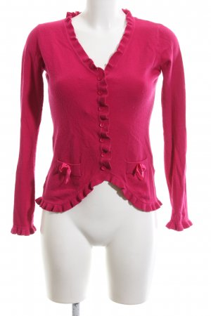 Memory & Co Cardigan pink Casual-Look